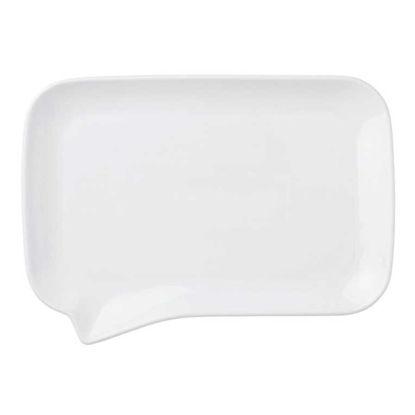 Изображение Тарелка TABLE TALK Белый 26х19 см. 10209033