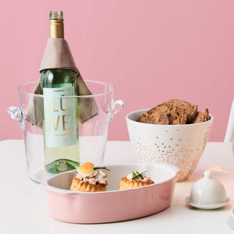 Изображение Блюдо STONEWARE Белый в сочетании 30х18 см. 10209090
