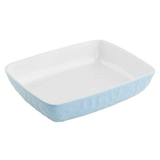Зображення Блюдо STONEWARE Блакитний в поєднанні 28х22 см. 10209092