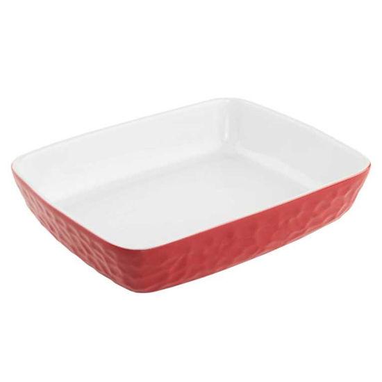 Изображение Блюдо STONEWARE Красный в сочетании 34х25 см. 10209093