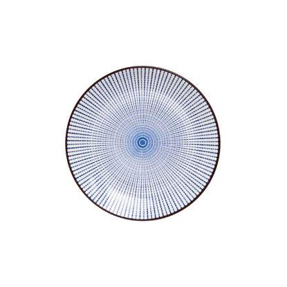 Зображення Тарілка DIM SUM Синій в поєднанні O:16 см. 10209401