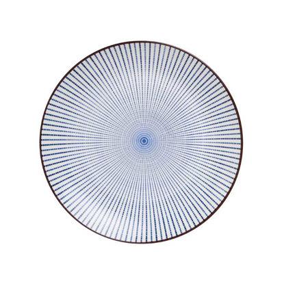 Изображение Тарелка DIM SUM Синий O:25.5 см. 10209402