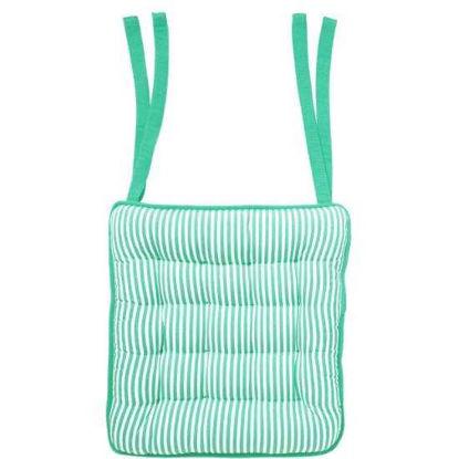 Зображення Подушка на стільчик AIRLINES Зелений в поєднанні 35х37 см. 10209435