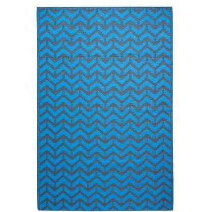 Зображення Килим для підлоги COLOUR CLASH Синій 90х150 см. 10210623