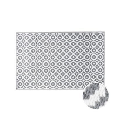 Зображення Килим для підлоги COLOUR CLASH Сірий 118х180 см. H:150 см. L:90 см. 10210626