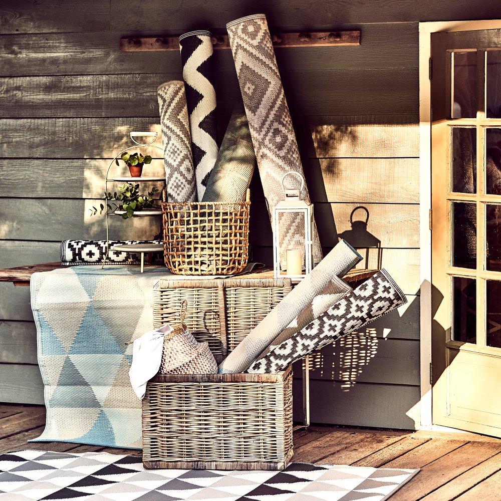 Зображення Килим для підлоги COLOUR CLASH Сірий 120х180 см. 10210627