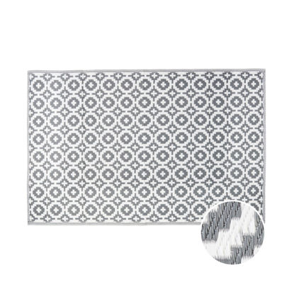 Изображение Ковер для пола COLOUR CLASH Серый 120х180 см. 10210627