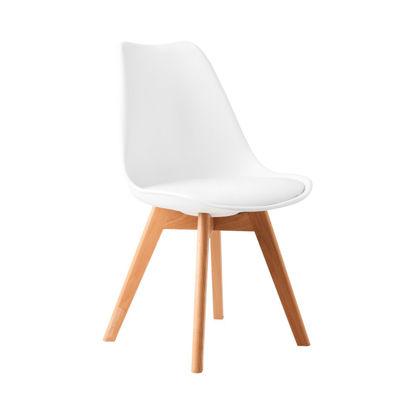 Зображення Крісло SEAT OF THE ART Білий 49х52х83 см. 10210858