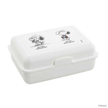 Изображение Коробка для ланча PEANUTS Белый 18х13х7 см. 10210903