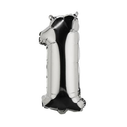 Изображение Шарик воздушный UPPER CLASS Серебряный 19.5х41.5х8 см. H:41.5 см. L:19.5 см. 10210967