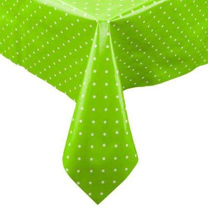 Изображение Скатерть WATERPROOF Зеленый 110х110 см.  10211050