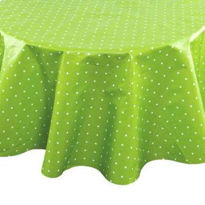 Зображення Скатертина WATERPROOF Зелений 110х110 см.  10211056