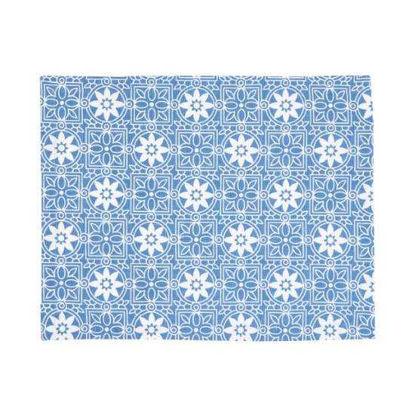 Зображення Підставка TABLE TILES Синій в поєднанні 33х45 см. 10211170