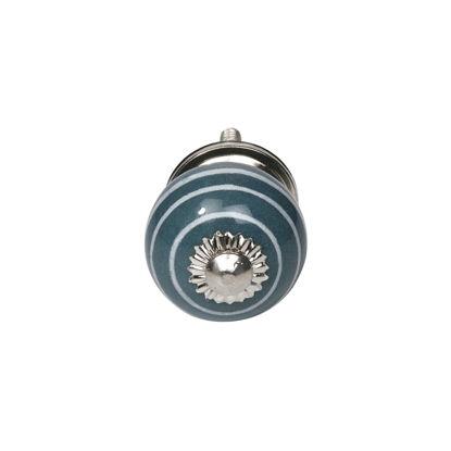 Изображение Ручка для мебели OPEN Синий 3.5х3.5х7 см. 10211197