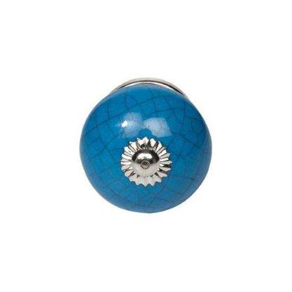 Изображение Ручка для мебели OPEN Синий 4х4х6.5 см. 10211212