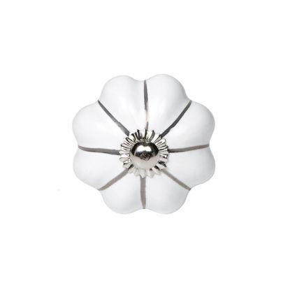 Изображение Ручка для мебели OPEN Белый 4.5х4.5х6.5 см. 10211220