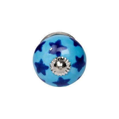 Зображення Ручка для меблів OPEN Синій в поєднанні 4х4х6 см. 10211246