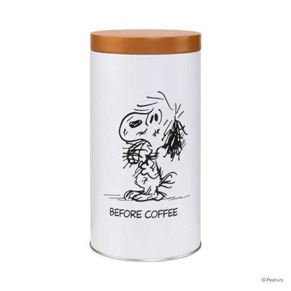 Зображення Коробка для зберігання кави PEANUTS Білий в поєднанні H:20.2 см. 10211314