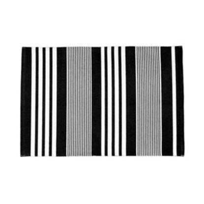 Зображення Килимок текстильний SILENT DANCER Чорний в поєднанні 60х90 см. 10211399
