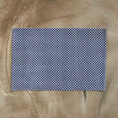Изображение Коврик текстильный SILENT DANCER Синий 60х90 см. 10211400