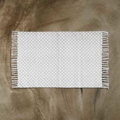 Зображення Килимок текстильний SILENT DANCER Білий в поєднанні 60х90 см. 10211401
