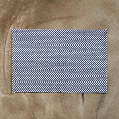 Зображення Килимок текстильний SILENT DANCER Чорний в поєднанні 60х90 см. 10211407
