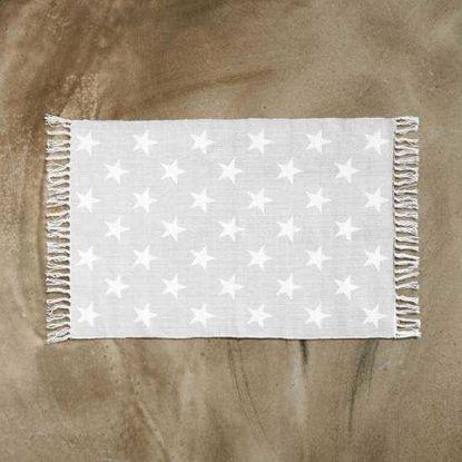Зображення Килимок текстильний SILENT DANCER Білий в поєднанні 60х90 см. 10211418