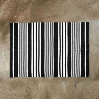 Зображення Килимок текстильний SILENT DANCER Чорний в поєднанні 120х170 см. 10211429