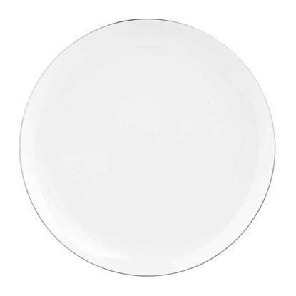 Изображение Тарелка SILVER LINING Белый в сочетании O:27 см. 10211509