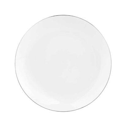 Изображение Тарелка SILVER LINING Белый O:20 см. 10211510