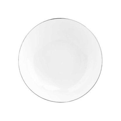 Изображение Тарелка SILVER LINING Белый в сочетании O:20 см. 10211517