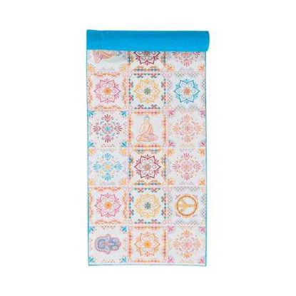 Зображення Підставка під тарілки MANDALA Блакитний в поєднанні 160х38 см. 10211549