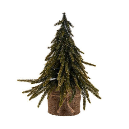 Изображение Елка декоративная TREE OF THE MONTH Золотой H:28 см. 10211803