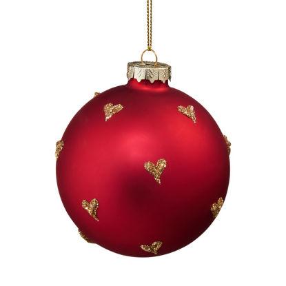 Зображення Кулька ялинкова HANG ON Пурпуровий 10212285