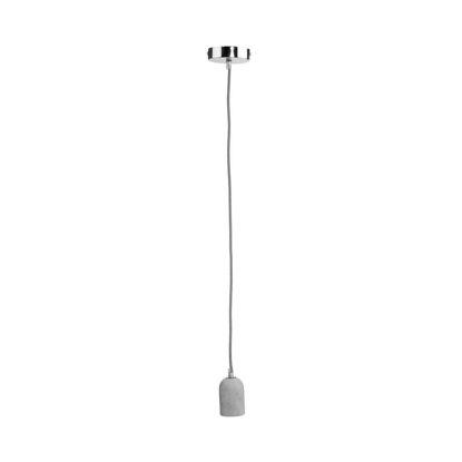 Зображення Лампа стельова LUMOS Сірий O:4.5 см. H:10 см. L:1.2 м. 10212350