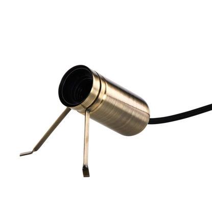 Изображение Лампа настольная LUMOS Золотой O:4.5 см. H:10 см. L:1.3 м. 10212354