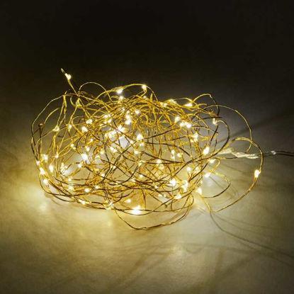Зображення Гірлянда TWINE LIGHTS Золотий L:1020 см. 10212395