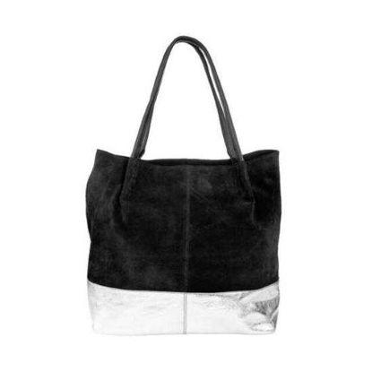 Изображение Сумка для покупок BOUTIQUE Черный в сочетании 40х47х13 см. 10212526