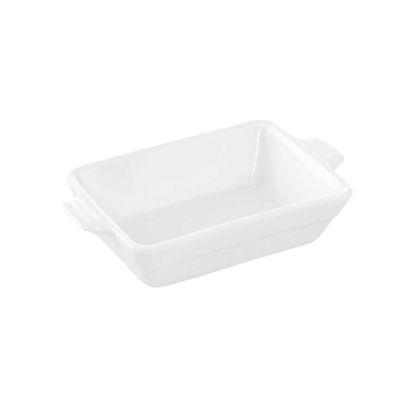 Зображення Блюдо PURO Білий 15.5х9.5х3.5 см. 10212640