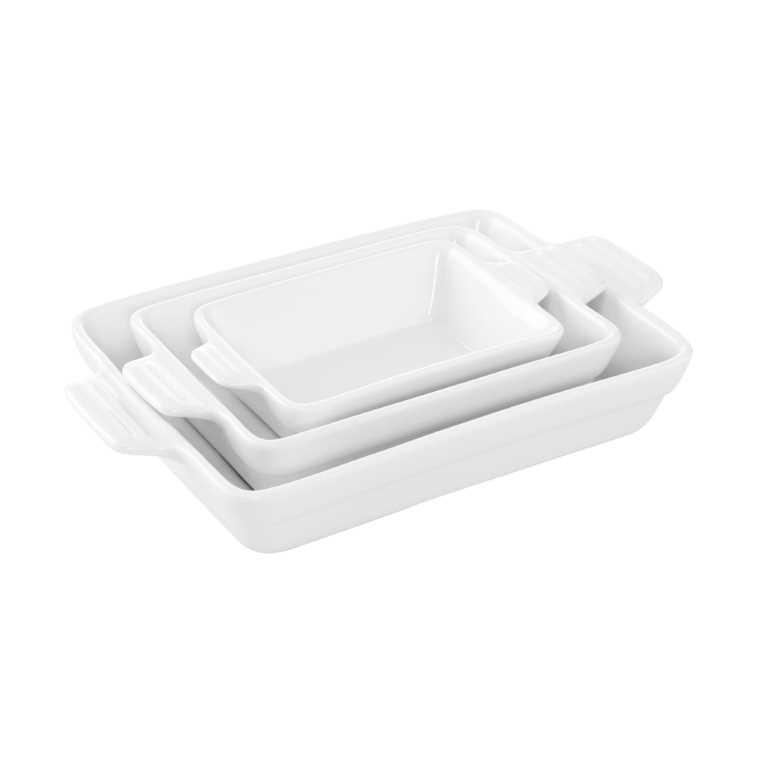 Изображение Блюдо PURO Белый 25.5х16х4 см. 10212642