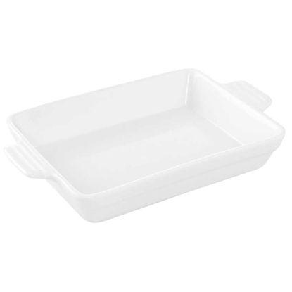 Зображення Блюдо PURO Білий 25.5х16х4 см. 10212642