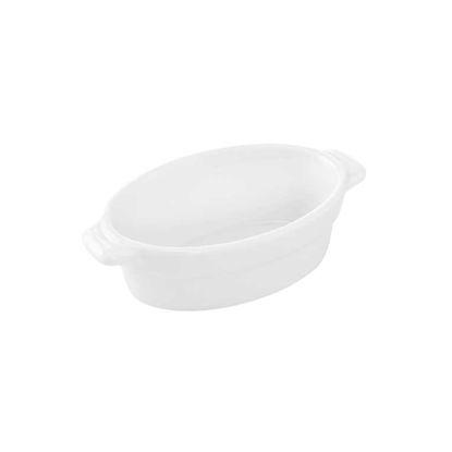 Изображение Блюдо PURO Белый 13х7.5х3.5 см. 10212643