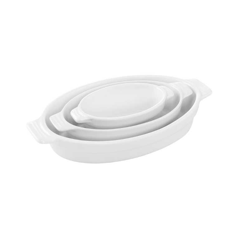 Изображение Блюдо PURO Белый 22.5х13.5х4 см. 10212645