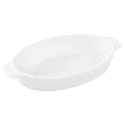 Зображення Блюдо PURO Білий 22.5х13.5х4 см. 10212645