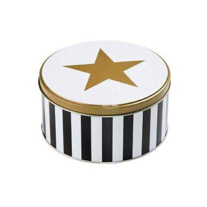 Изображение Коробка для хранения печенья COOKIE JAR Белый в сочетании O:13.5 см. 10212770