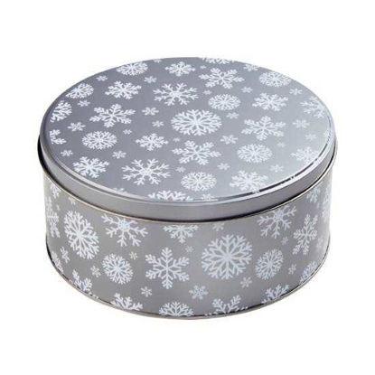 Изображение Коробка для хранения COOKIE JAR Серый в сочетании O:16.7 см. 10212776