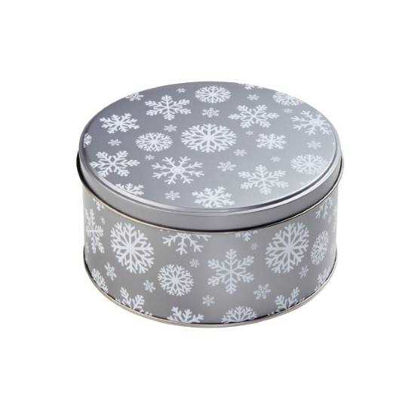 Изображение Коробка для хранения COOKIE JAR Серый в сочетании O:13.5 см. 10212777