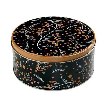 Изображение Коробка для хранения COOKIE JAR Черный в сочетании O:16.7 см. 10212778