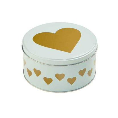 Изображение Коробка для хранения печенья COOKIE JAR Белый в сочетании O:13.5 см. 10212785