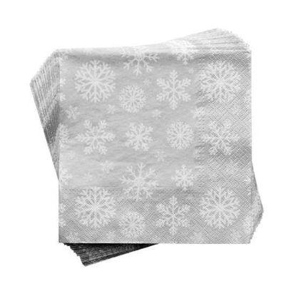 Зображення Серветки неароматизовані APRES Сірий 33х33 см. 10212920
